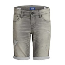 Grijze denim short Rick