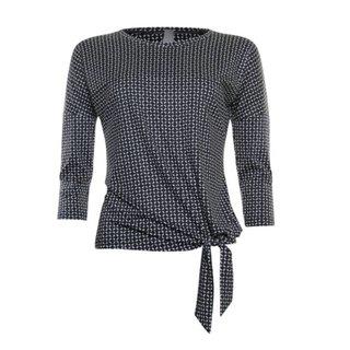 Dot geprinte sweater 913159