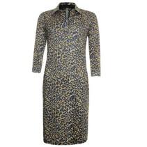 Leopard geprinte jurk 913151