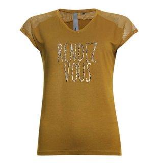 Okergeel t-shirt 913135