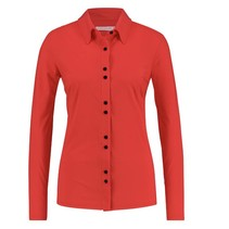 Rode blouse Pippa