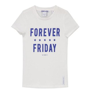 Wit t-shirt Forever