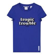 Blauw t-shirt Tropic