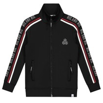Zwarte track jacket Marvin