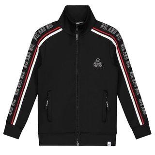Zwarte track jacket Marvin