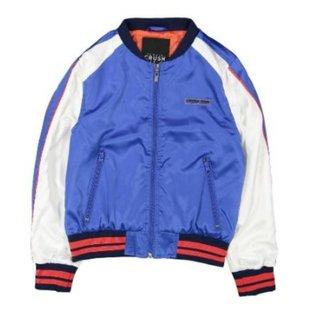 Blauwe jacket Roanoke