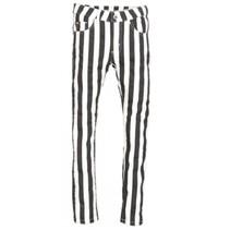 Zwart witte broek Julie Striped