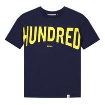 Donkerblauw t-shirt Hundred