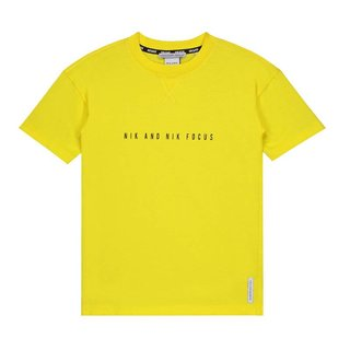 Geel t-shirt Focus