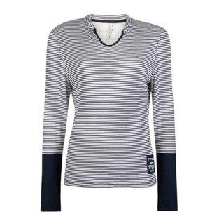 Blauw shirt Striped 1902