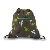 Groene zwemtas Pixel Dino