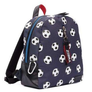 Donkerblauwe rugzak Voetbal