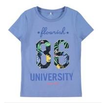 Blauw t-shirt Dagmar