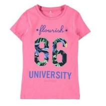 Roze t-shirt Dagmar