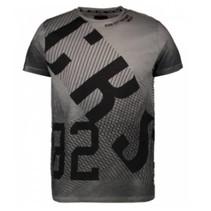 Antragrijs t-shirt Vizzini