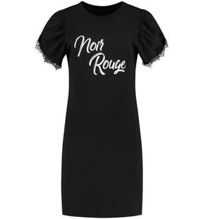 Zwarte jurk Noir Rouge