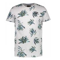 Grijs geprint t-shirt Basio