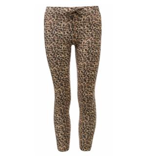 Allover leopard broek 7610