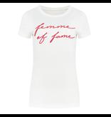 NIKKIE Wit t-shirt Fame