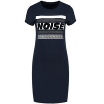 Donkerblauwe jurk Noise