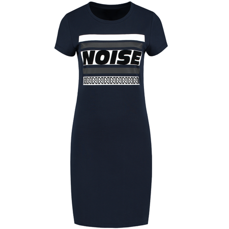 NIKKIE Donkerblauwe jurk Noise