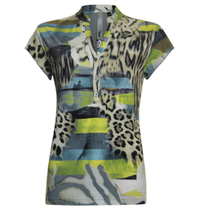 Tijger geprint t-shirt 913221