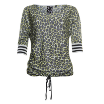 Geprinte sweater 913198