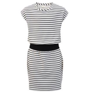 Wit geprinte jurk Reseda