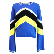 Blauwe sweater Venturi
