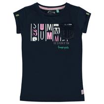 Donkerblauw t-shirt Sunayana