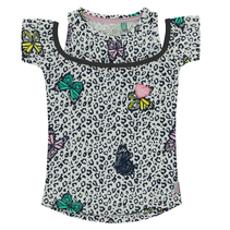 Multi Butterfly t-shirt Sunshine