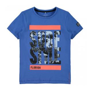 Blauw t-shirt Zalte