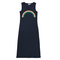 Donkerblauwe Rainbow jurk Vippa