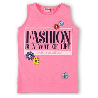 Roze shirt Ilse