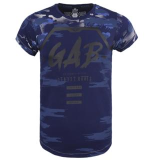Donkerblauw t-shirt 7432