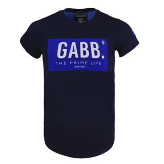 Donkerblauw t-shirt 7454