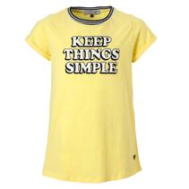 Geel t-shirt Sienna