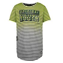 Geel geprint t-shirt Pula