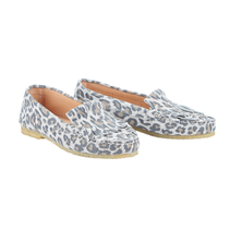 Beige leopard Schoen
