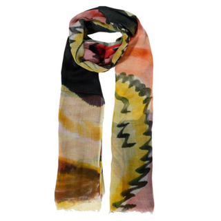 Multicolour sjaal Bana