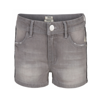 Grey denim short 19-6004