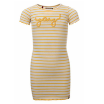 Gestreepte jurk 7816