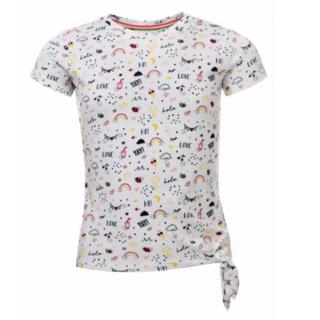Allover multi t-shirt 7414
