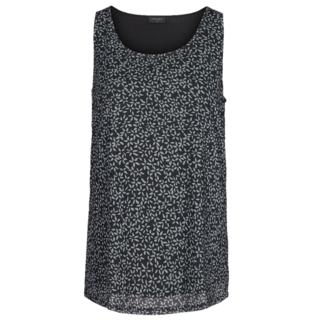 Zwart geprinte blouse Memfia