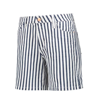Blauwe short Jane Stripe