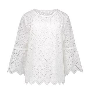 Witte blouse Eli Lace