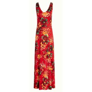 Rode maxi jurk Anna Splendid
