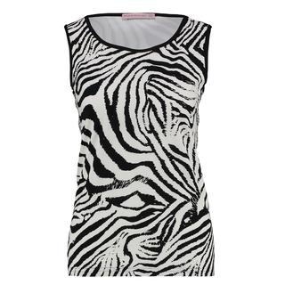 Wit met zwarte top Racy Zebra