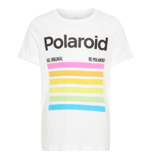 Wit t-shirt Polaroid