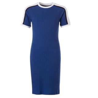 Blauwe jurk Diana